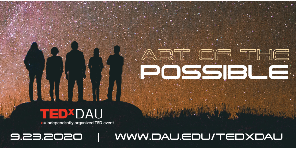 TEDxDAU 2020: The Art of the Possible