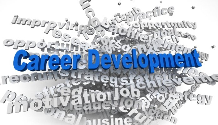 Career Development Word Montage