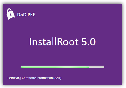 InstallRoot Splash Screen