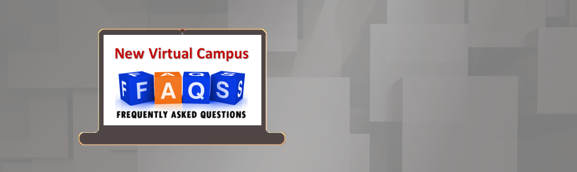 New Virtual Campus FAQs