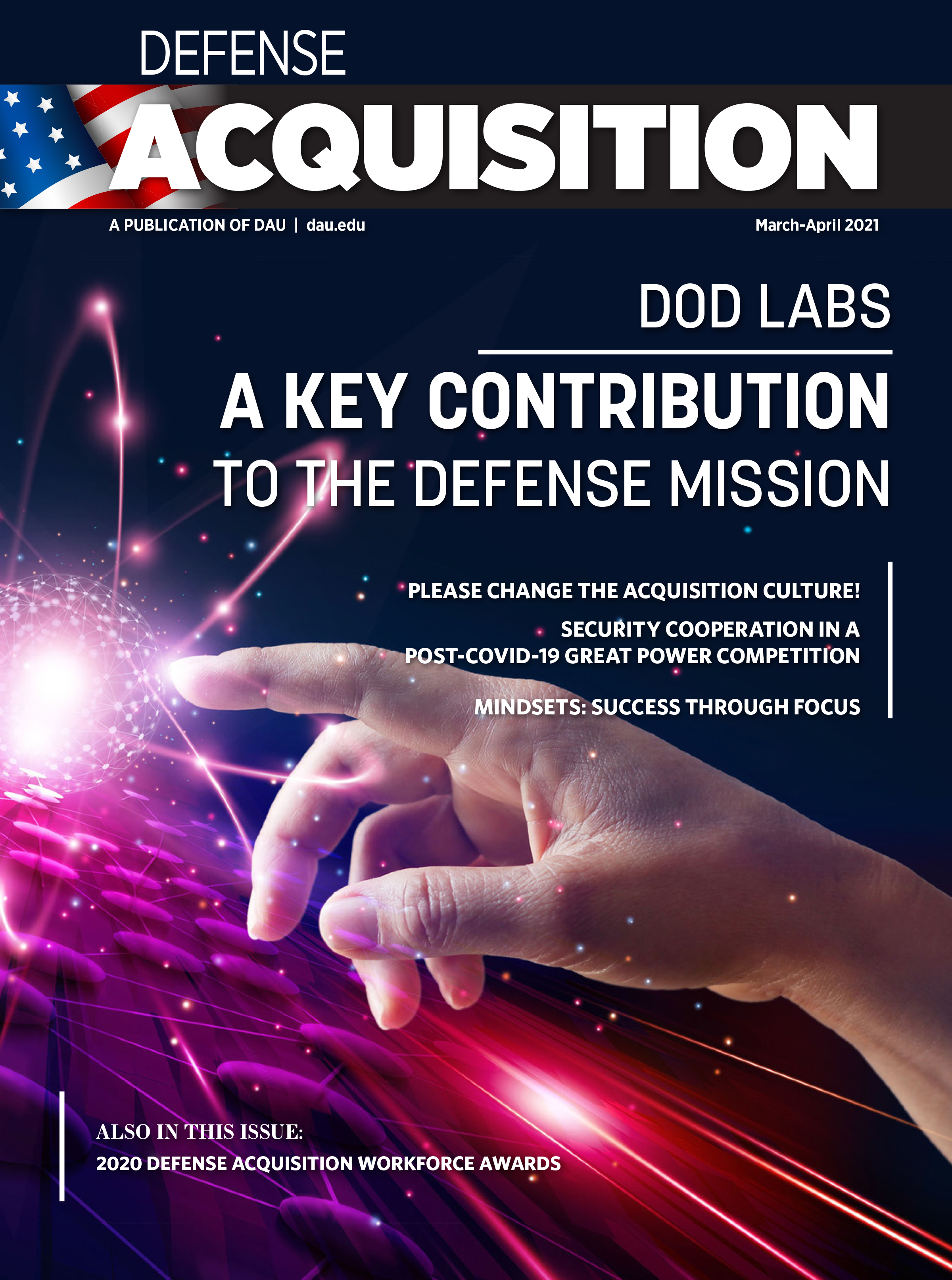 Defense Acquisition Magazine March to April 2021 cover