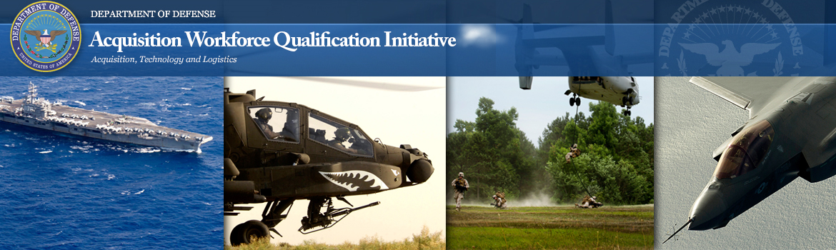 Acquisition Workforce Qualification Initiative banner image
