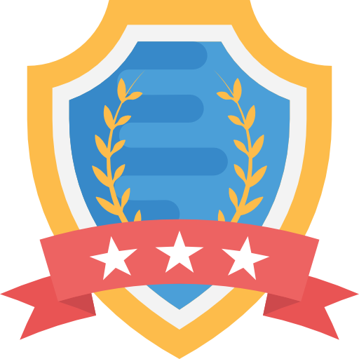 diploma badge icon